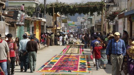 Comalapa Straße